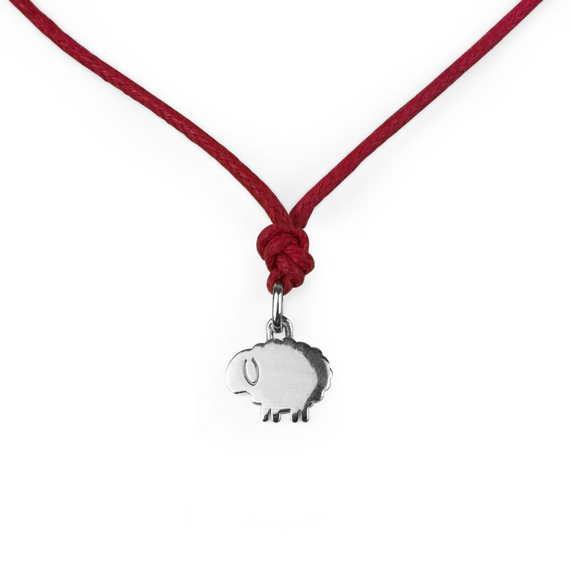 Lost Bonds - Silver Pendant - Sheep, , zoo