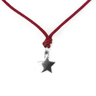 Infinite Bonds - Silver Pendant - Star