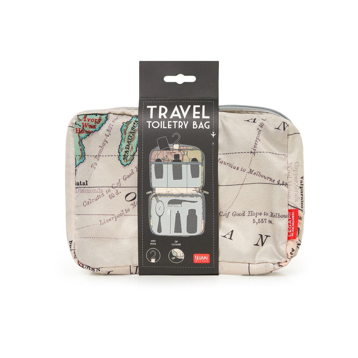 Travel Toiletry Bag, , zoo