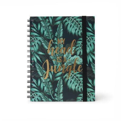 Lined Spiral Notebook A5