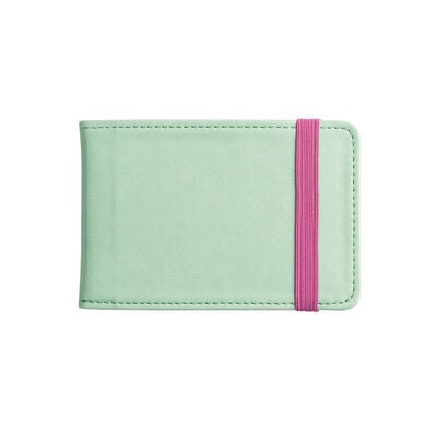 Yellow And Purple Card Holder