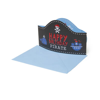 3D GREETING CARD - HAPPY BIRTHDAY - PIRATE