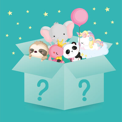Mystery Set - Panda & Friends