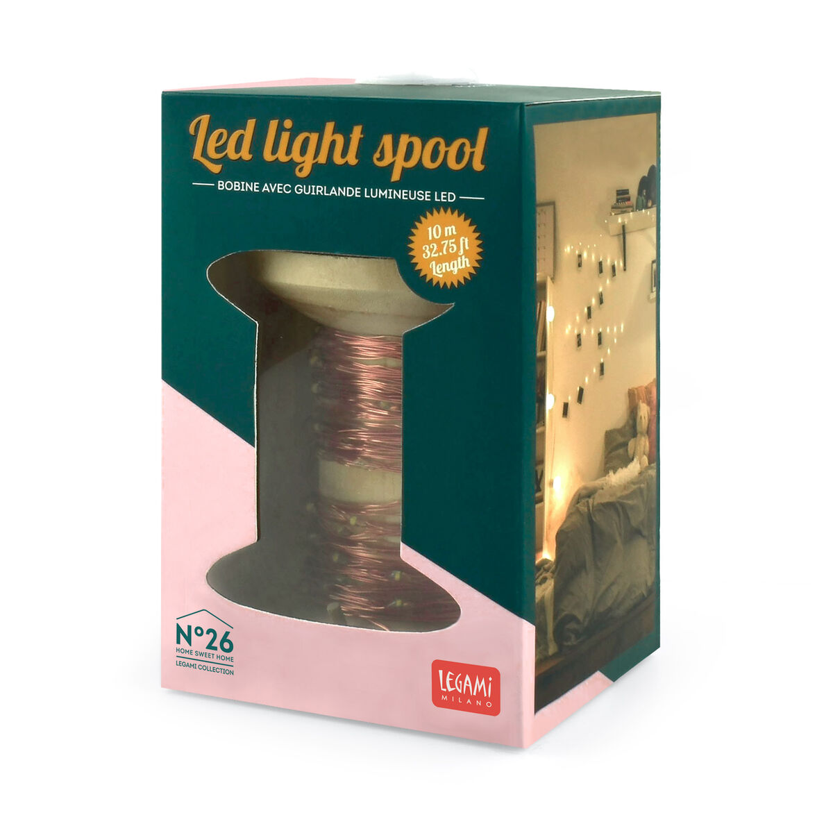 Sparkling Nights - Led Light Spool, , zoom