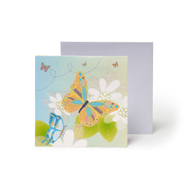 Small Pop Up Greeting Card -  Butterflies