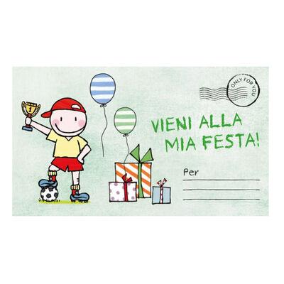 Party Invitation - Ita - 13,5X8