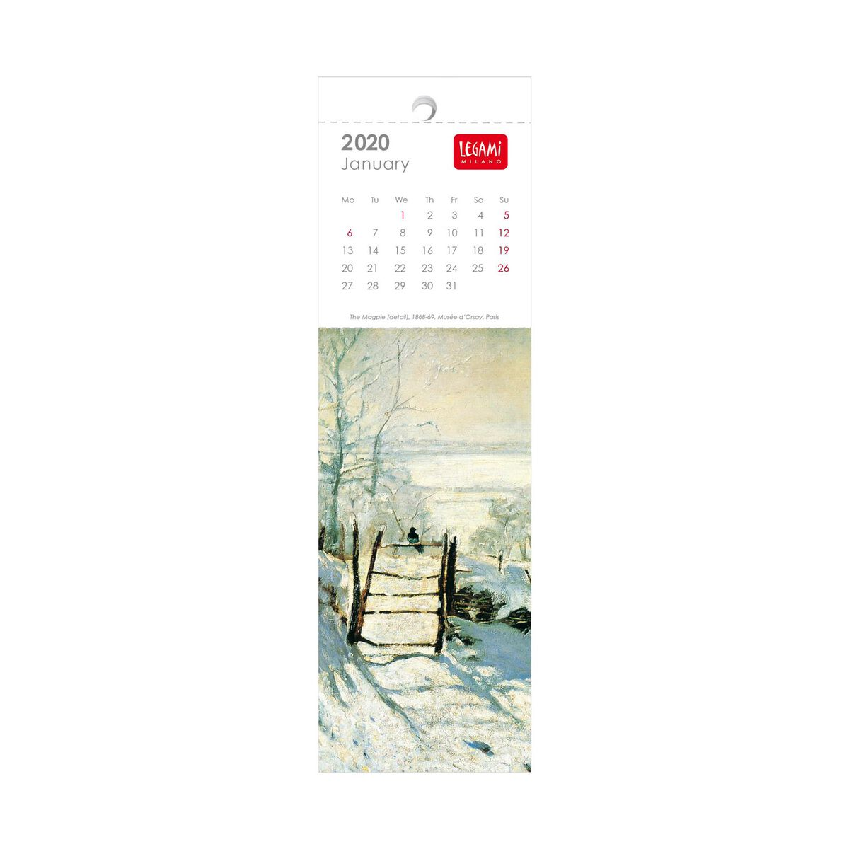 2023 - Bookmark Calendar - 5,5X18 Cm, , zoo