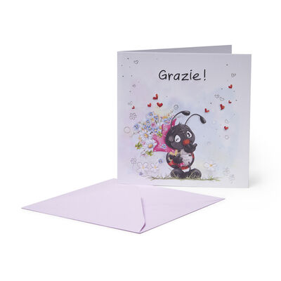 Greeting Cards - Grazie