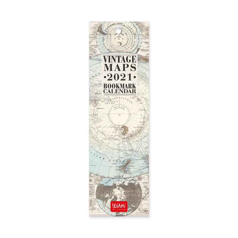 Calendario Segnalibro 2021 - 5,5x18 Cm, , zoo
