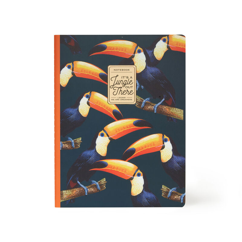 Lined Notebook - Large - Sheet B5, , zoo
