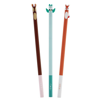Little Friends - Set Of 3 Pencils