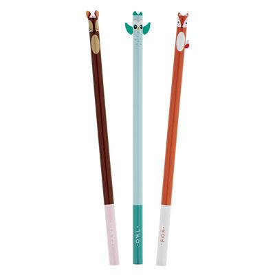 Little Friends - Set Of 3 Pencils