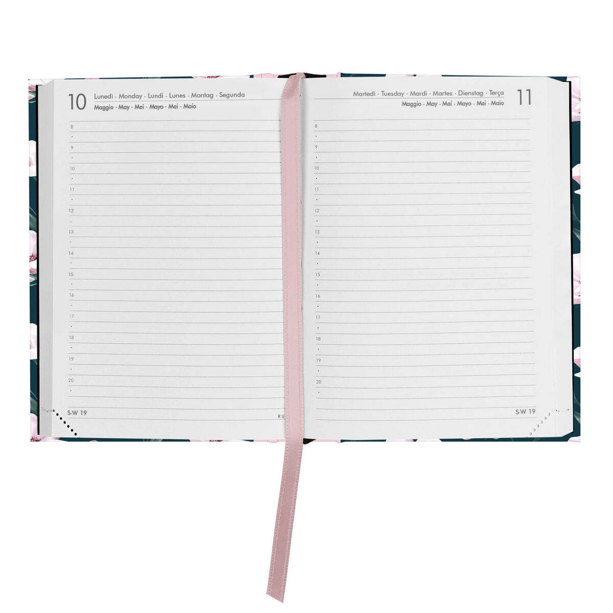 16-Month Daily Diary - Small - 2020/2021, , zoo