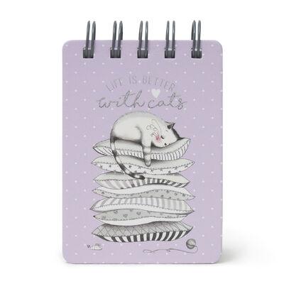 Mini Notebook con Spirale