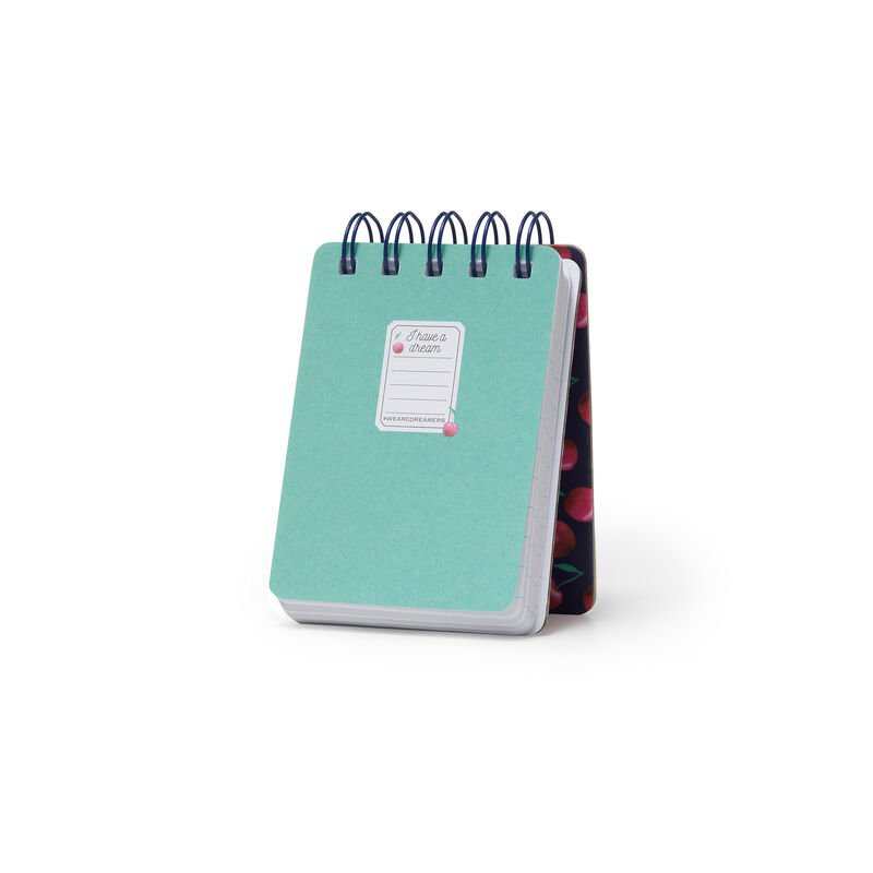LINED MINI SPIRAL NOTEBOOK - CHERRY BOMB, , zoom