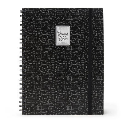 Trio - 3 In 1 Notebook With Spiral - A4