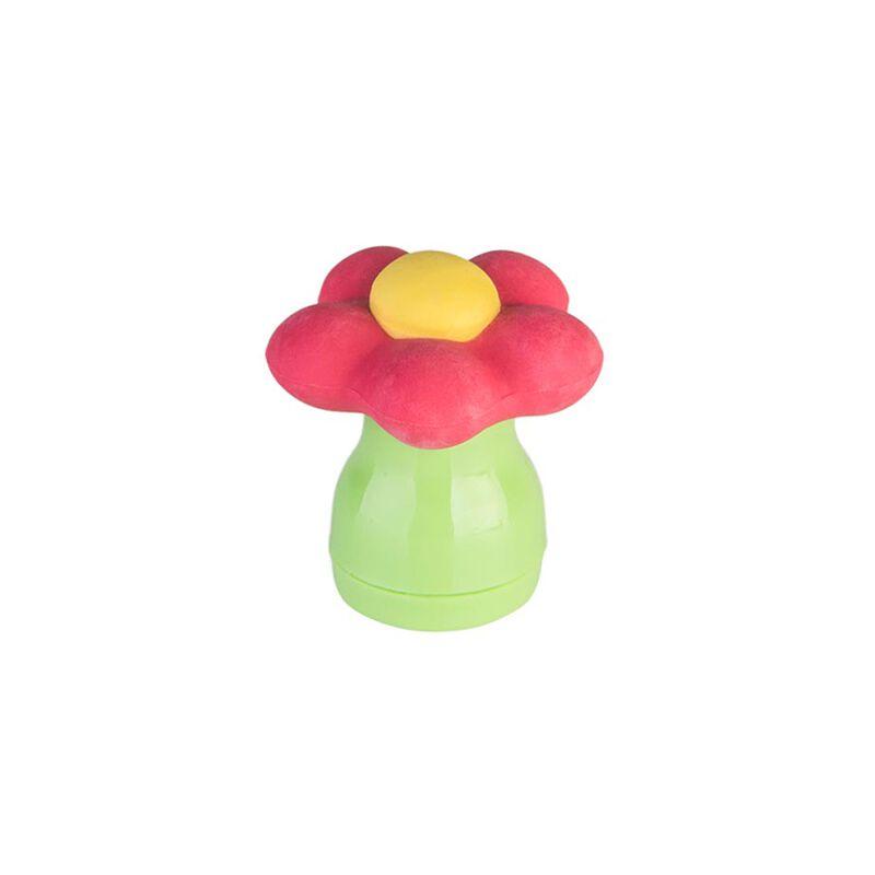 Gomma con Temperino Flower Power, , zoo