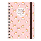 12-Month Weekly Diary - Large Spiral Bound - 2021, , zoo
