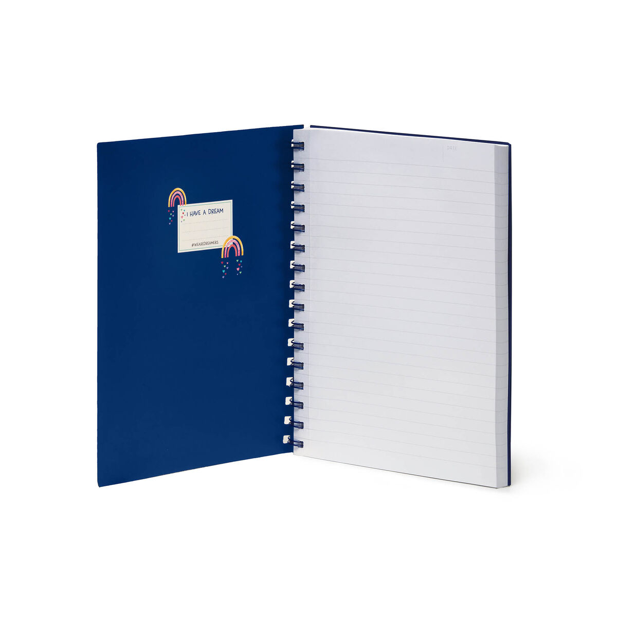 Lined Spiral Notebook - A5 Sheet - Large, , zoo