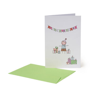 Greeting Card - Happy Birthday Boy