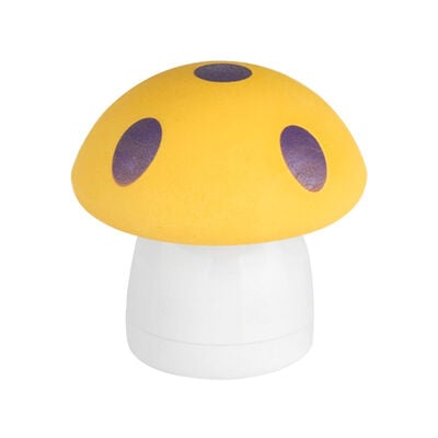 MAGIC MUSHROOM ERASER WITH SHARPENER - RED