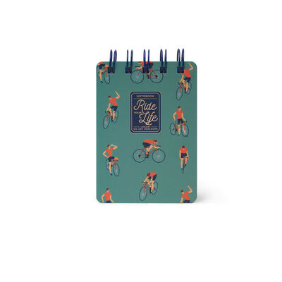 Mini Notebook With Spirals