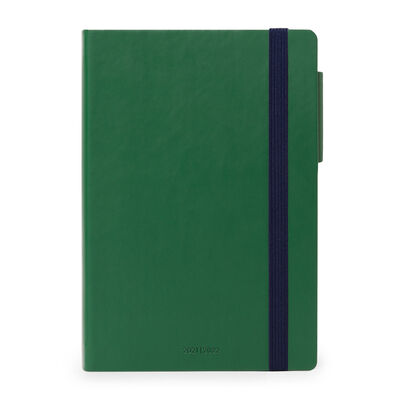 18-Month Weekly Diary - Medium With Notebook - 2021/2022